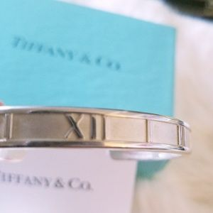 Tiffany & Co. Jewelry - Tiffany & Co. Atlas Sterling Silver Cuff Bracelet